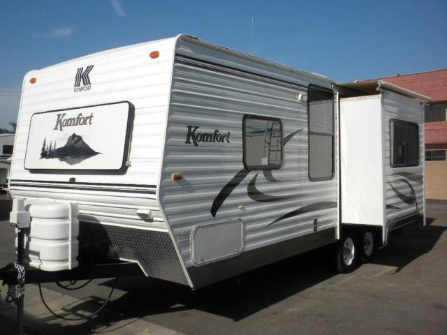 2005 Komfort 232 23ft With Slide Very Sharp For Sale In