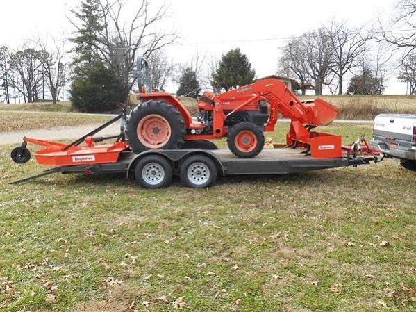 Dt Kubota M5500 Tractor Seats : Kubota l dt wd tractor with la qt