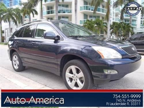 2005 lexus rx 330 for sale in fort lauderdale florida classified. Black Bedroom Furniture Sets. Home Design Ideas
