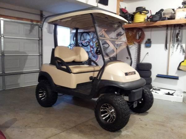 2005 Lifted Golf Cart Club Car Precedent 20mph For Sale In