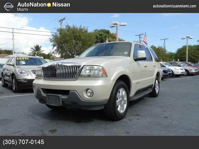 2005 lincoln aviator for sale in miami florida classified. Black Bedroom Furniture Sets. Home Design Ideas