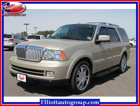 2005 lincoln navigator suv no trim for sale in mount pleasant texas classified. Black Bedroom Furniture Sets. Home Design Ideas