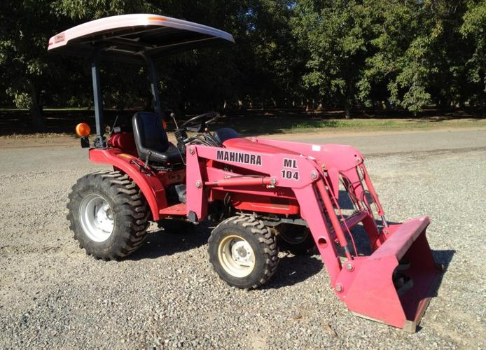 Wheel Horse Garden Tractor With Pto And 3 Point : Mahindra hst tractor with loader red bluff