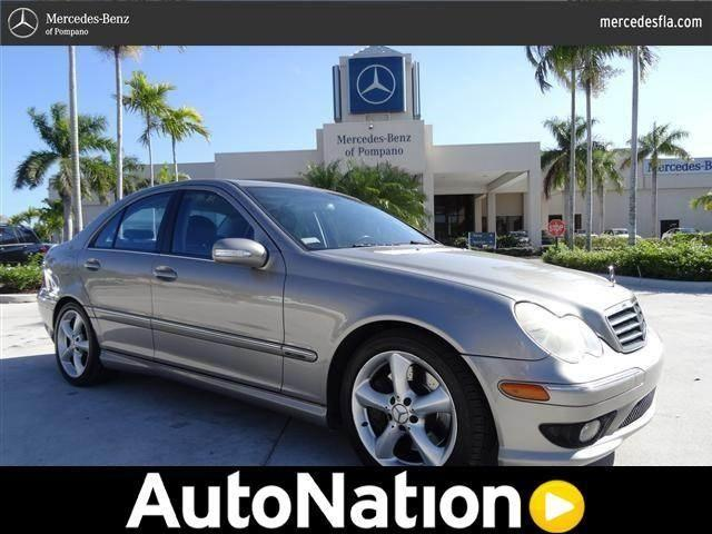 2005 mercedes benz c class for sale in pompano beach for Mercedes benz of pompano