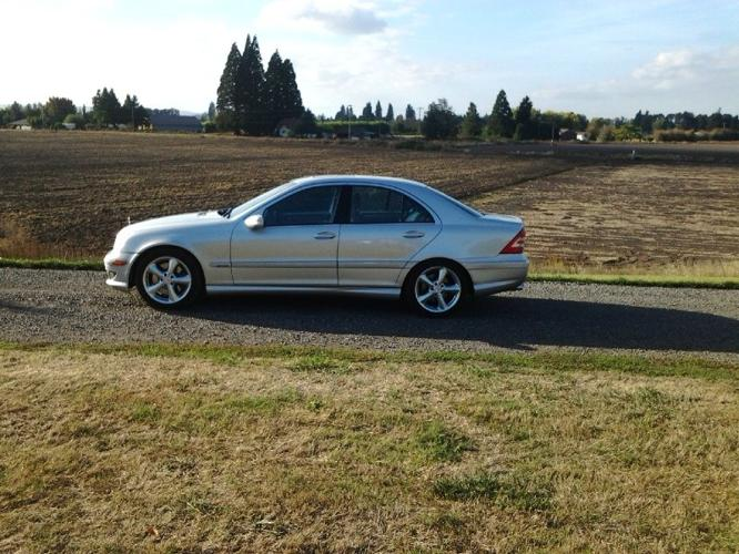2005 mercedes benz c class for sale in salem oregon classified. Black Bedroom Furniture Sets. Home Design Ideas