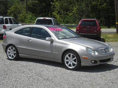 2005 mercedes benz c class c230 k sport coupe for sale in butler pennsylvania classified. Black Bedroom Furniture Sets. Home Design Ideas
