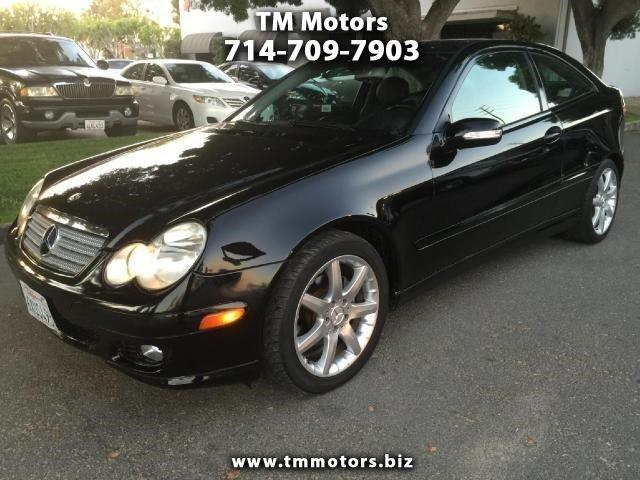 2005 mercedes benz c class c230 kompressor 2dr coupe for for 2005 mercedes benz c230 kompressor
