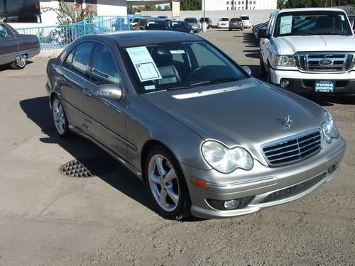 2005 mercedes benz c class sedan c230 kompressor sport for sale in yuma arizona classified. Black Bedroom Furniture Sets. Home Design Ideas