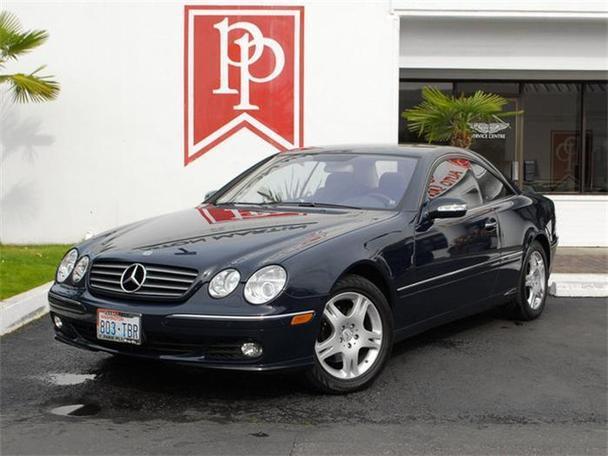 2005 mercedes benz cl500 for sale in bellevue washington for Mercedes benz bellevue service