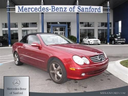 2005 mercedes benz clk320 coupe clk320 cabriolet for sale for Mercedes benz lake forest