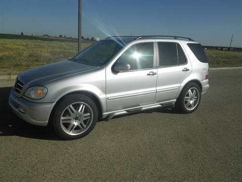 2005 mercedes benz ml500 suv base for sale in ransom