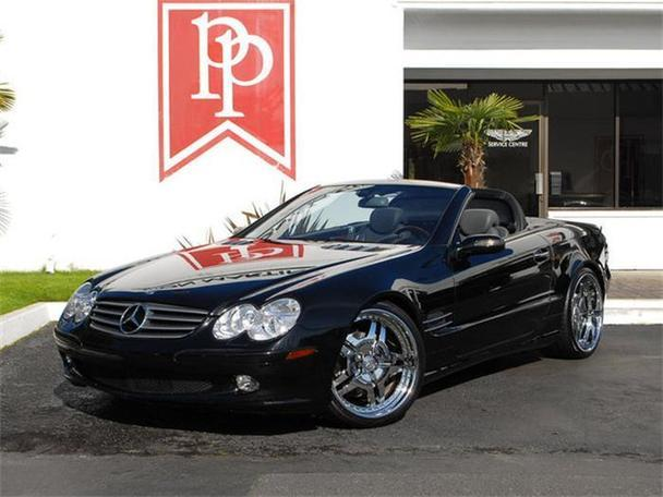 2005 mercedes benz sl500 for sale in bellevue washington