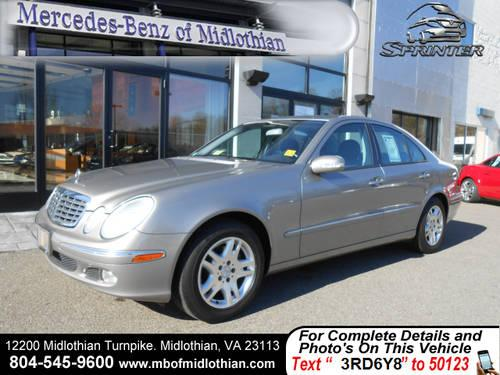 2005 mercedes e320 for sale in richmond virginia. Black Bedroom Furniture Sets. Home Design Ideas
