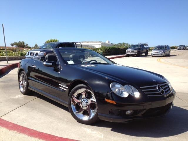 2005 mercedes sl 500 convertible immaculate condition for sale in newport beach california. Black Bedroom Furniture Sets. Home Design Ideas