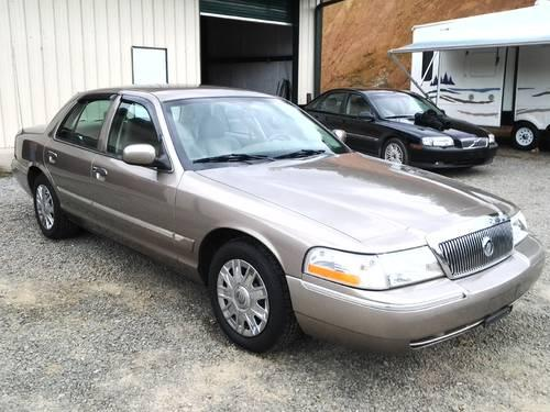 Mercury Grand Marquis Gs Low Mileage Americanlisted