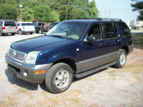 2005 mercury mountaineer suv awd for sale in hartselle alabama classified. Black Bedroom Furniture Sets. Home Design Ideas