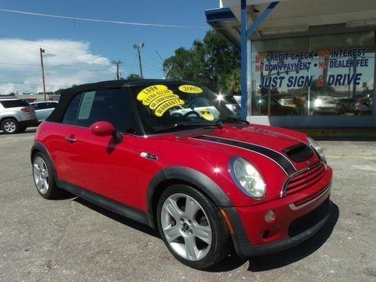 2005 mini cooper convertible red for sale in cocoa florida classified. Black Bedroom Furniture Sets. Home Design Ideas