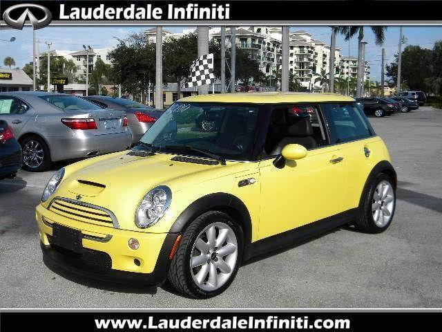 2005 mini cooper s for sale in fort lauderdale florida. Black Bedroom Furniture Sets. Home Design Ideas