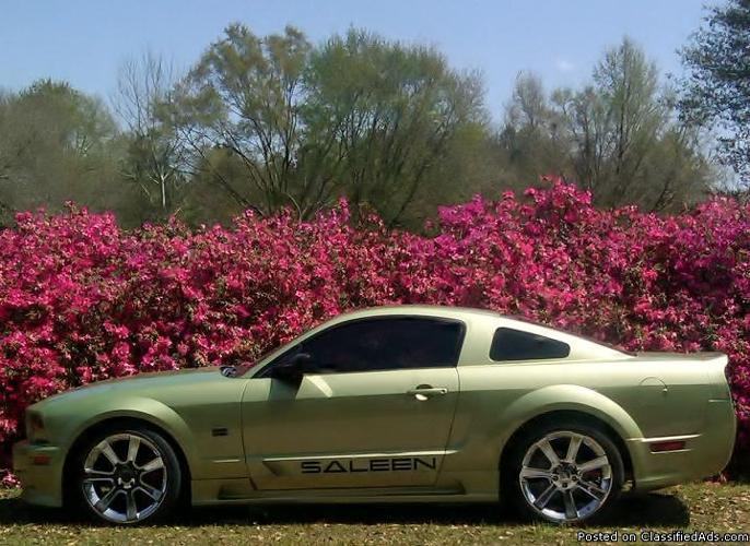 2005 Mustang Saleen S281 Legend Lime 1 Of 1 Produced Trades Welcome