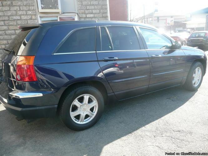 Navy Blue Chrysler Pacifica Touring Americanlisted