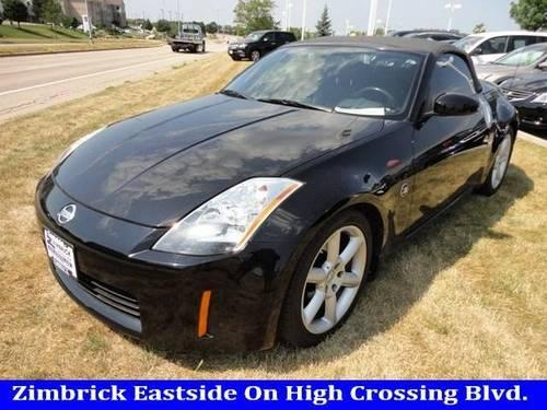2005 nissan 350z convertible for sale in madison wisconsin classified. Black Bedroom Furniture Sets. Home Design Ideas