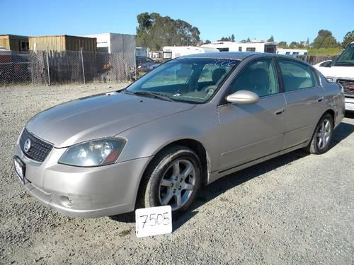 2005 nissan altima 2 5s for sale in vallejo california classified. Black Bedroom Furniture Sets. Home Design Ideas