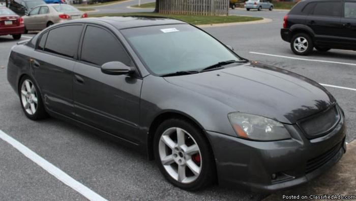 2005 nissan altima se r 4dr sedan 6 speed manual for sale in lancaster pennsylvania. Black Bedroom Furniture Sets. Home Design Ideas