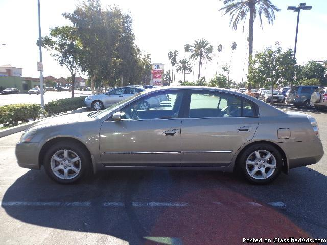 2005 nissan altima sl for sale in lynwood california classified. Black Bedroom Furniture Sets. Home Design Ideas