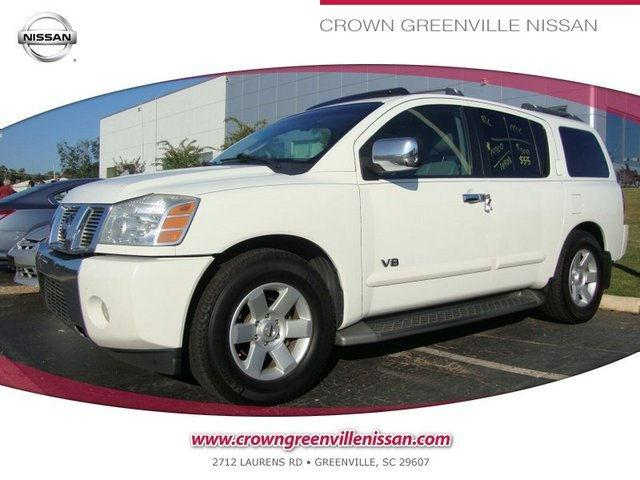 2005 nissan armada le for sale in greenville south. Black Bedroom Furniture Sets. Home Design Ideas