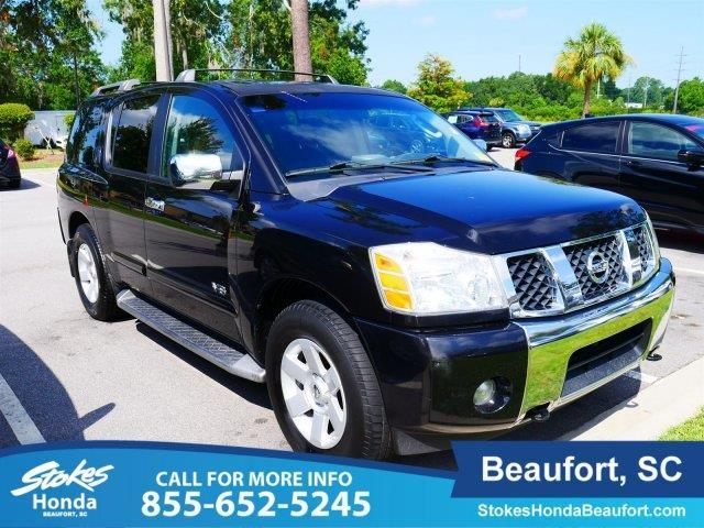 2005 nissan armada le le 4wd 4dr suv for sale in beaufort. Black Bedroom Furniture Sets. Home Design Ideas