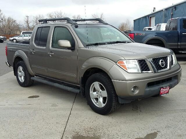 2005 nissan frontier le 4dr crew cab le 4wd sb for sale in cody wyoming classified. Black Bedroom Furniture Sets. Home Design Ideas