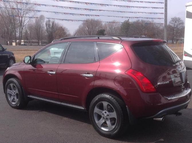 2005 nissan murano 4dr sl awd v6 for sale in andover minnesota classified. Black Bedroom Furniture Sets. Home Design Ideas