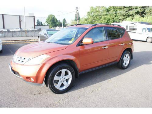 Power Nissan Salem Oregon >> 2005 Nissan Murano SUV AWD for Sale in Salem, Oregon Classified | AmericanListed.com