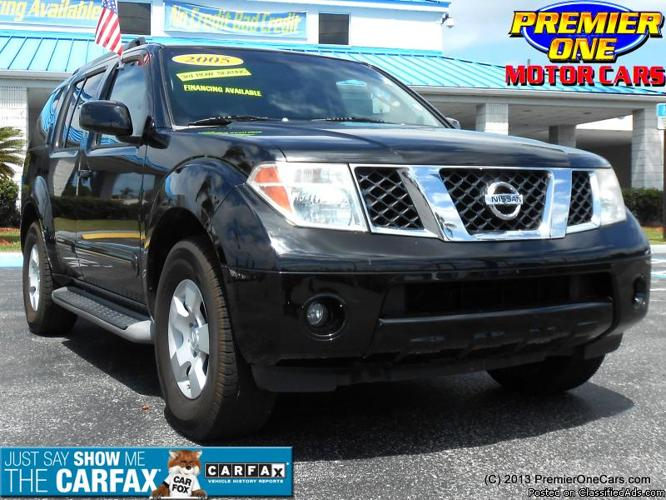 2005 nissan pathfinder for sale in port richey florida classified. Black Bedroom Furniture Sets. Home Design Ideas