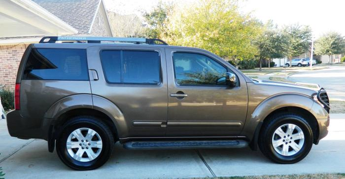 2005 nissan pathfinder le for sale in matthews north carolina classified. Black Bedroom Furniture Sets. Home Design Ideas