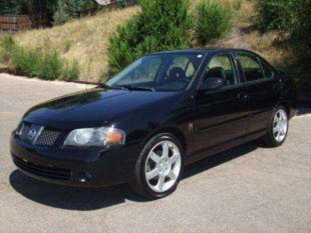 2005 nissan sentra se r spec v for sale in denver colorado classified. Black Bedroom Furniture Sets. Home Design Ideas