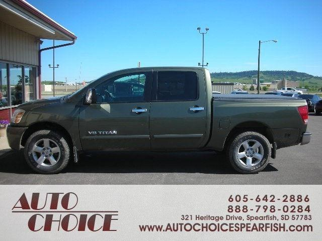 2005 nissan titan se for sale in spearfish south dakota classified. Black Bedroom Furniture Sets. Home Design Ideas