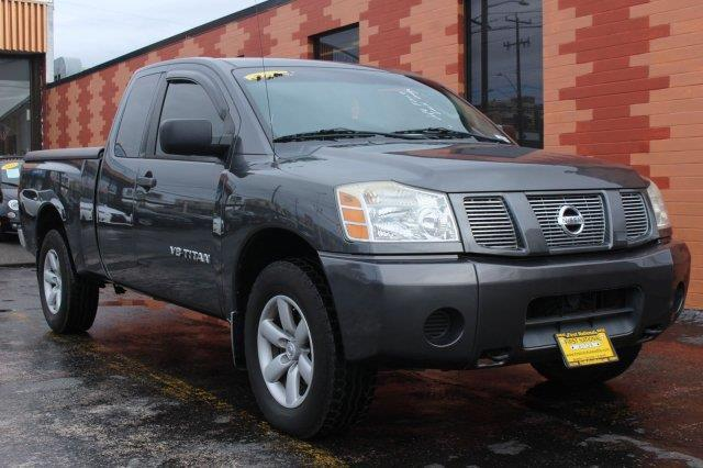 2005 nissan titan xe 4dr king cab xe 4wd sb for sale in everett washington classified. Black Bedroom Furniture Sets. Home Design Ideas
