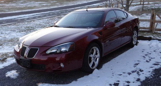 2005 pontiac grand prix gxp 12 249 original miles for sale in cherry run west virginia. Black Bedroom Furniture Sets. Home Design Ideas