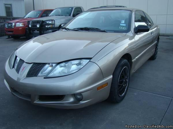 2005 pontiac sunfire 2d automatic 2 2l 4cyl for sale in. Black Bedroom Furniture Sets. Home Design Ideas