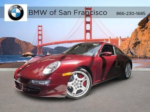 2005 porsche 911 2dr car carrera s 997 moonroof for sale in san francisco california. Black Bedroom Furniture Sets. Home Design Ideas
