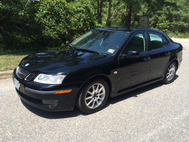 2005 saab 9 3 arc 4dr sedan 2 0 turbo black for sale. Black Bedroom Furniture Sets. Home Design Ideas