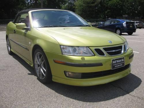 2005 saab 9 3 convertible aero for sale in lionshead lake new jersey classified. Black Bedroom Furniture Sets. Home Design Ideas