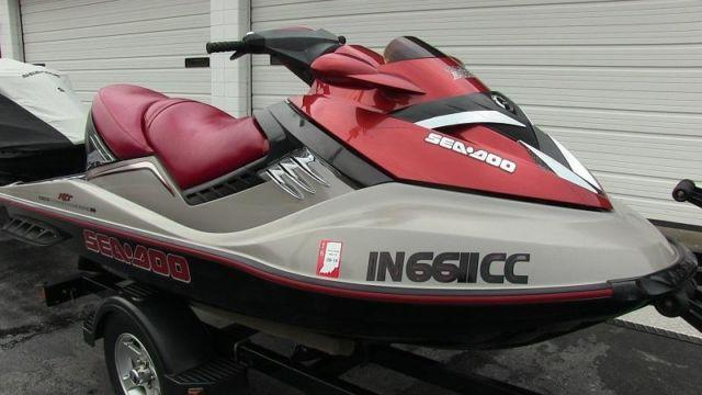 2005 Sea-Doo RXT supercharged 215hp 4-stroke jet ski, Louisville KY.