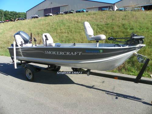 2005 Smoker Craft 140 Pro Mag w/Yamaha 25hp 4-stroke!