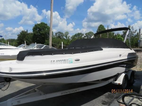 2005 Starcraft AURORA 2010 Deck Boat Mercruiser 4 3 trailer Financing -  $14490