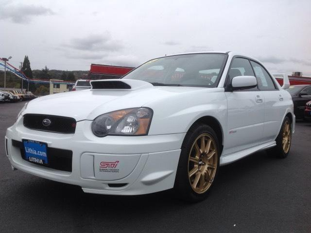 2005 subaru impreza wrx sti 4dr all wheel drive sedan base for sale in grants pass oregon. Black Bedroom Furniture Sets. Home Design Ideas