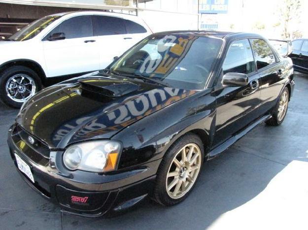 2005 subaru impreza wrx sti sedan 4d for sale in fullerton. Black Bedroom Furniture Sets. Home Design Ideas