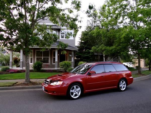 2005 subaru legacy gt limited wagon with only 99 ooo low miles for sale in gresham oregon. Black Bedroom Furniture Sets. Home Design Ideas