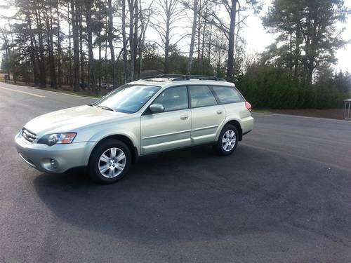 2005 subaru legacy wagon outback ltd for sale in inman south carolina classified. Black Bedroom Furniture Sets. Home Design Ideas